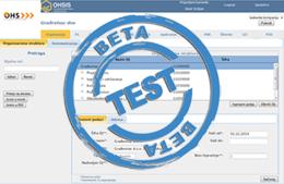 Beta verzija OHSIS programa